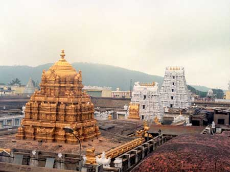 Taxi Service from Tirupati Airport to Tirumala Up and Down