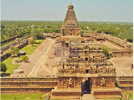 Taxi Service from Tirupati to Thanjavur